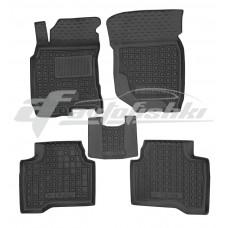 Резиновые коврики в салон для Nissan X-Trail T30 2001-2007 Avto-Gumm