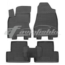 Резиновые коврики в салон для Nissan X-Trail T31 2007-2014 Avto-Gumm