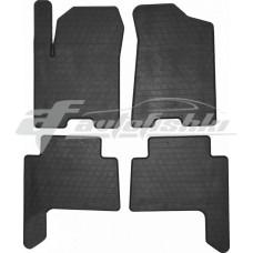 Резиновые коврики в салон Nissan Patrol Y62 2010-2020 Stingray