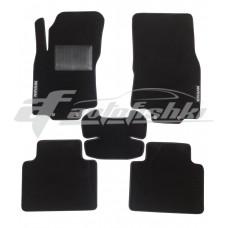 Коврики текстильные в салон для Nissan X-Trail III T32 2014-... черные, Польша