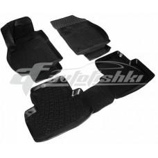 Резиновые 3D коврики на Opel Zafira C 2012-2019 Lada Locker