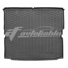 Резиновый коврик в багажник для Opel Zafira B 2005-2014 Avto-Gumm