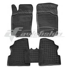 Резиновые коврики в салон для Opel Combo C 2001-2011 Avto-Gumm