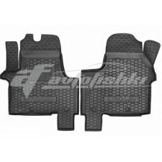 Резиновые коврики в салон для Opel Vivaro II 2014-... Avto-Gumm