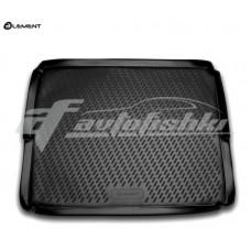 Резиновый коврик в багажник на Peugeot 3008 I (нижний) 2009-2016 Novline (Element)