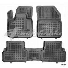 Коврики в салон резиновые для Peugeot 3008 II 2016-… Rezaw-Plast