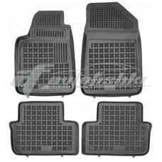 Коврики в салон резиновые для Peugeot 407 2004-2011 Rezaw-Plast