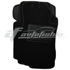 Коврики ворсовые в салон для Peugeot 301 2012-... черные, Украина