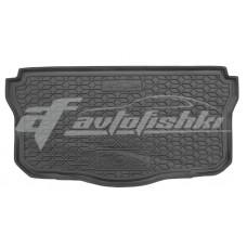 Резиновый коврик в багажник для Peugeot 108 2014-... Avto-Gumm