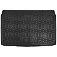 Резиновый коврик в багажник для Peugeot 208 II 2021-... Avto-Gumm