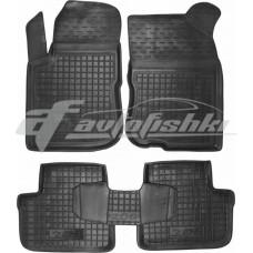 Резиновые коврики в салон для Peugeot 208 2012-... Avto-Gumm
