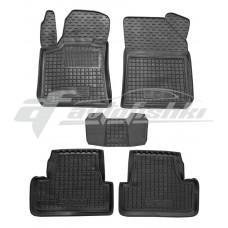 Резиновые коврики в салон для Peugeot 308 (хэтчбек) 2013-... Avto-Gumm