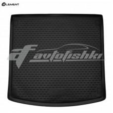 Резиновый коврик в багажник на Porsche Cayenne III 2018-... Novline (Element)