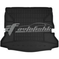 Коврик в багажник резиновый Renault Espace V (7 мест) (сложенный 3 ряд) 2014-... Frogum