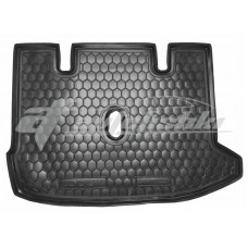 Резиновый коврик в багажник для Renault Lodgy (не раздельная сидушка) 2012-... Avto-Gumm