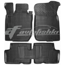 Резиновые коврики в салон для Renault Duster (2WD) 2010-2014 Avto-Gumm