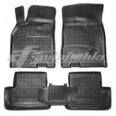 Резиновые коврики в салон для Renault Megane III Hatchback (хэтчбек) 2008-2015 Avto-Gumm