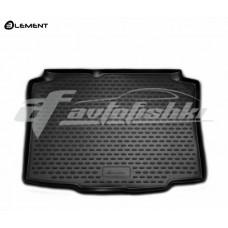 Резиновый коврик в багажник на Seat Ibiza IV 3D, 5D Hatchback (хэтчбек) 2008-2017 Novline