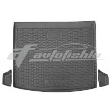 Резиновый коврик в багажник для Seat Ateca 4WD (полный привод 4×4) 2016-... Avto-Gumm