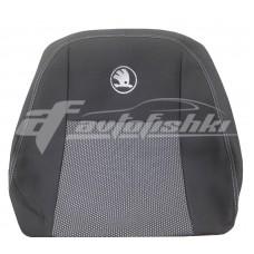 Чехлы на сиденья для Skoda Fabia III Hatchback (раздельная) 2014-... EMC Elegant