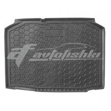 Коврик в багажник Skoda Fabia II (хетчбэк) 2007-2014 Avto-Gumm