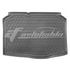 Коврик в багажник Skoda Fabia I (хэтчбек) 1999-2007 Avto-Gumm