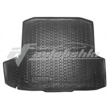 Коврик в багажник Skoda Octavia A7 (универсал) (с ушами) 2013-2020 Avto-Gumm