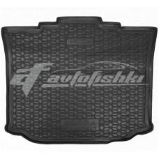 Резиновый коврик в багажник для Skoda Roomster 2006-2015 Avto-Gumm