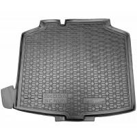 Резиновый коврик в багажник для Skoda Scala 2019-... Avto-Gumm