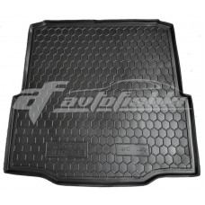 Коврик в багажник Skoda Superb II Liftback (лифтбэк) 2008-2015 Avto-Gumm