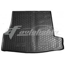Резиновый коврик в багажник для Skoda Superb I 2001-2008 Avto-Gumm