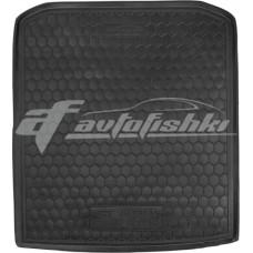 Резиновый коврик в багажник для Skoda Superb III Liftback (лифтбэк) 2015-... Avto-Gumm