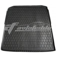 Резиновый коврик в багажник для Skoda Superb III Kombi (универсал) 2015-... Avto-Gumm