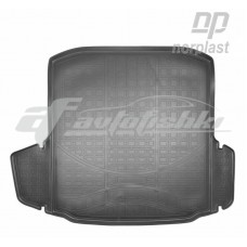 Резиновый коврик в багажник для Skoda Octavia A7 Liftback FL (лифтбек) 2013-2020 Norplast