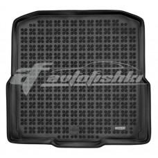 Коврик в багажник резиновый для Skoda Octavia A7 Combi (универсал) 2013-2020 Rezaw-Plast