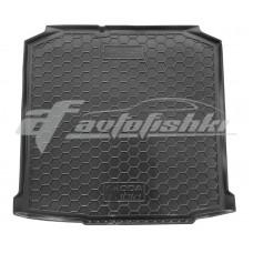 Резиновый коврик в багажник для Skoda Fabia II Combi (универсал) 2007-2014 Avto-Gumm