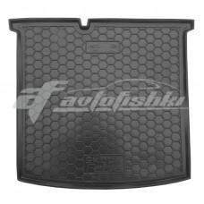 Резиновый коврик в багажник для Skoda Fabia III (универсал) 2015-... Avto-Gumm