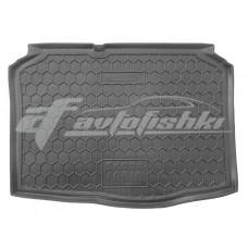 Резиновый коврик в багажник для Skoda Fabia I (хэтчбек) 1999-2007 Avto-Gumm