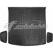 Резиновый коврик в багажник для Skoda Kodiaq (5 мест) 2017-... Avto-Gumm