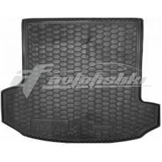 Резиновый коврик в багажник для Skoda Kodiaq (7 мест) 2017-... Avto-Gumm