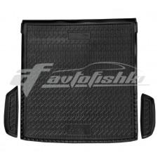 Резиновый коврик в багажник для Skoda Octavia I A4 (универсал) 1996-2010 Avto-Gumm