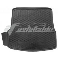 Резиновый коврик в багажник для Skoda Octavia A5 (лифтбэк) 2004-2013 Avto-Gumm