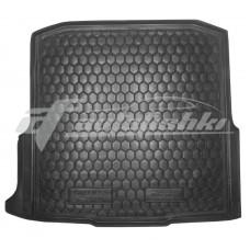 Резиновый коврик в багажник для Skoda Octavia A7 Kombi (универсал) 2013-2020 Avto-Gumm