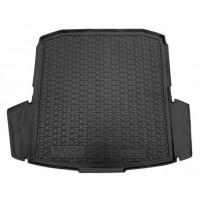 Резиновый коврик в багажник для Skoda Octavia A8 Liftback (лифтбек) 2020-... Avto-Gumm
