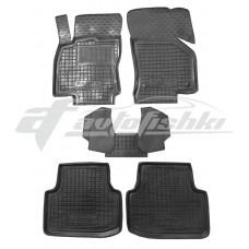 Резиновые коврики в салон для Skoda Octavia A7 2013-2020 Avto-Gumm