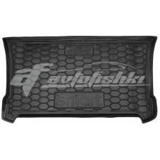 Резиновый коврик в багажник Smart Fortwo (453) 2014-... Avto-Gumm