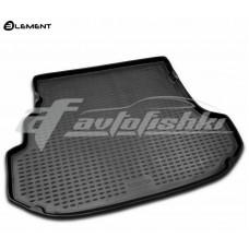 Резиновый коврик в багажник на Subaru Forester II 2002-2008 Novline (Element)
