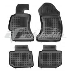 Коврики в салон резиновые для Subaru WRX STI 2014-... Rezaw-Plast