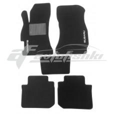Коврики текстильные в салон для Subaru Forester 2013-2019 черные, Польша