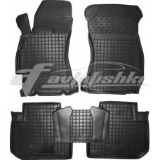 Резиновые коврики в салон для Subaru Forester IV 2013-2019 Avto-Gumm